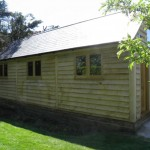 Bespoke Green Oak Garden Office